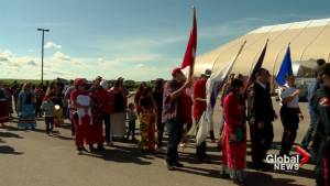 Community walk on Kainai Nation honours MMIWG