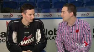 Saskatoon Blades bio: Russian Mark Rubinchik lets his play do the talking