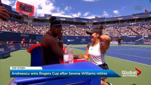 Bianca Andreescu becomes first Canadian to win Rogers Cup in 50 years