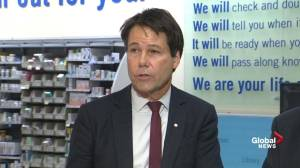 Low-income seniors will pay less in prescription drug costs: Ontario Health Minister