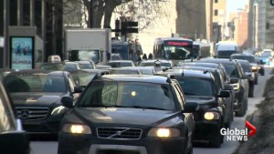 Are Montrealers spending more time in their cars?