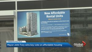 Toronto city council passes affordable housing amid criticism