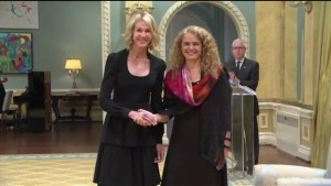 Gov. Gen. Julie Payette receives credentials from new U.S. envoy Kelly Knight Craft
