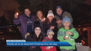 Family set to be deported on Christmas Eve has been granted stay in Canada