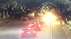 Several people injured after bus explosion in China