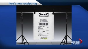 Would you buy an IKEA receipt rug?