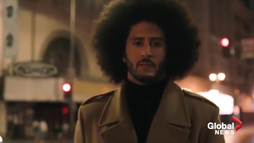 Believe In Something Even If It Means Sacrificing Everything Colin Kaepernick In Nike Commercial Watch News Videos Online