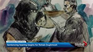 Woman found guilty on terror-related charges in Canadian Tire attack attends sentencing hearing