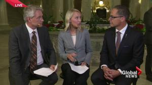 'It was challenging' Alberta Finance Minister Joe Ceci says of putting together 2015 budget
