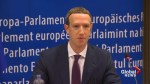 Facebook's Mark Zuckerberg apologizes to EU Lawmakers over data leak