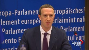 Facebook's Mark Zuckerberg apologizes to EU Lawmakers over data leak