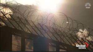 Arizona border town to Trump: tear down the razor wire on this wall or we will sue