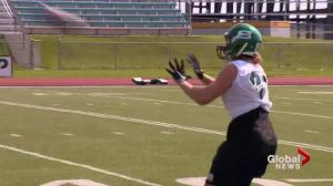 Mitch Hillis wants to go out a winner with the Saskatchewan Huskies