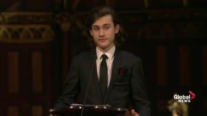 '15 years is not a long time for a son to get to know his father': son of René Angélil speaks at funeral