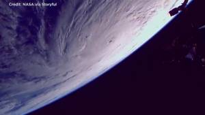 International Space Station provides captivating view of Hurricane Maria from space