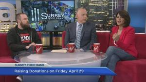 Surrey Food Bank fundraiser aims to highlight year round need