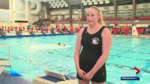 Athlete leads Alberta water polo team to success after serious injury