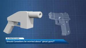 Should Canadians be worried about 3D-printed guns?
