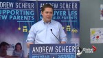 Andrew Scheer announces new tax credit for parents as first economic policy plank of party