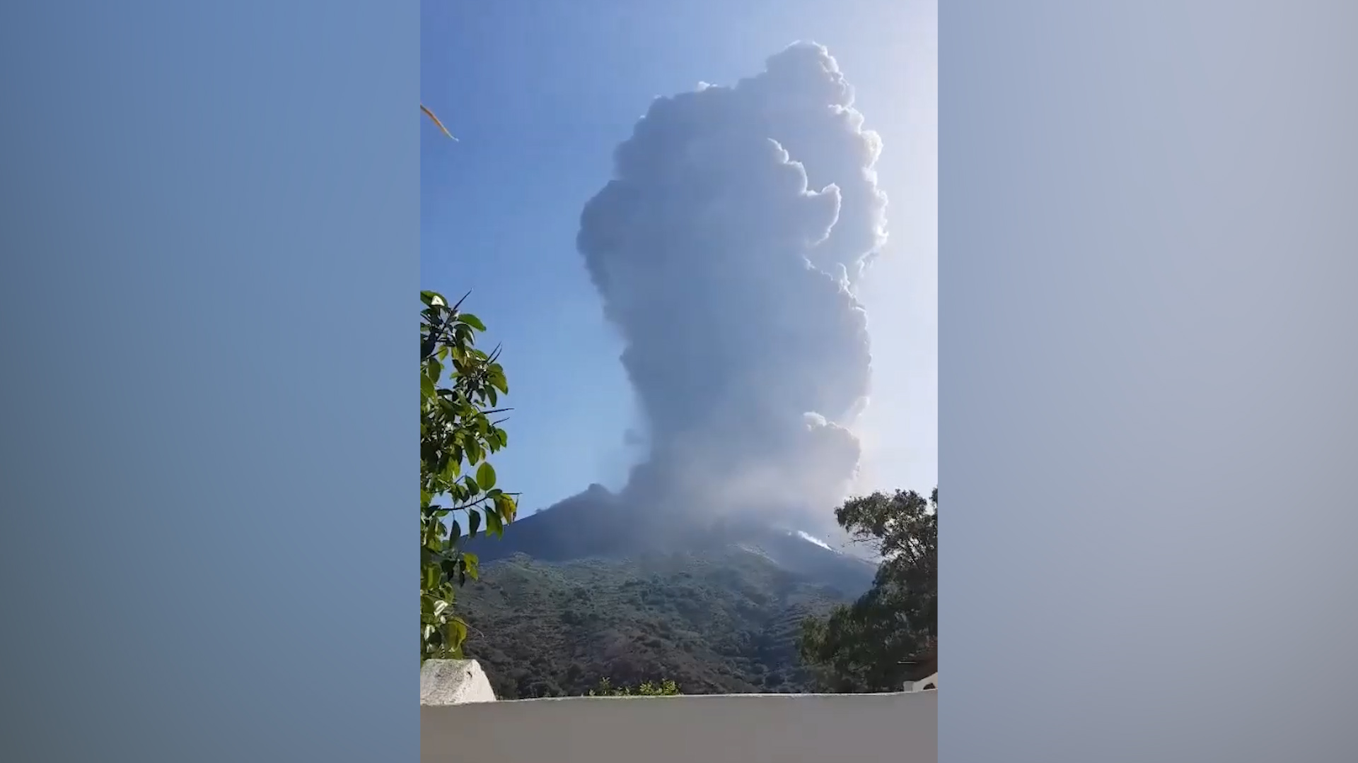 One dead after volcano erupts on Italian island