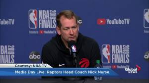Nick Nurse says Kawhi's approach and his matched up perfectly