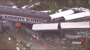 Multiple deaths reported in Amtrak crash