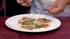 Saturday Chef: Seared Ahi Tuna with Inverted Tonnato