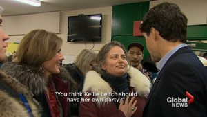 'You think Kellie Leitch should have her own party?': Trudeau's response to electoral reform