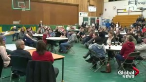 Lumby meeting draws hundreds concerned for high school future