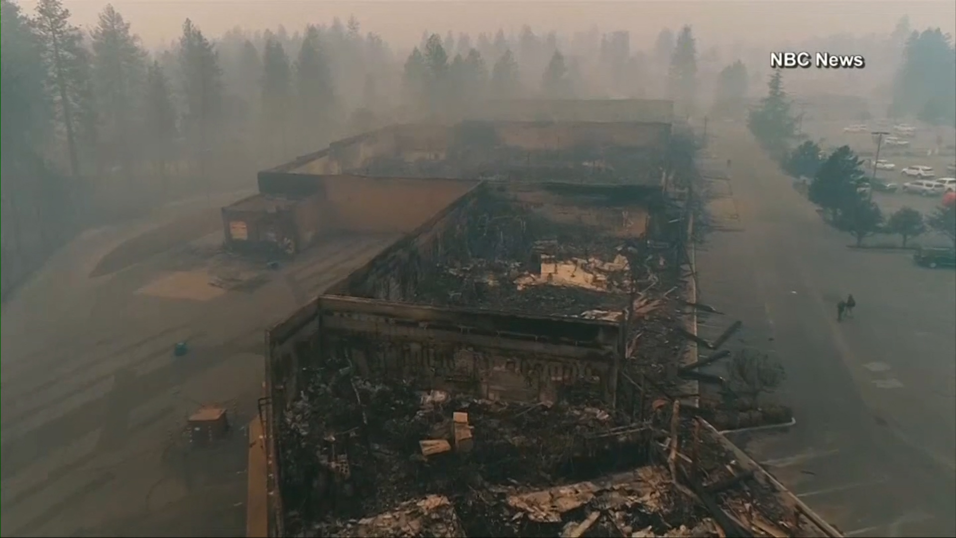 Fire that ravaged California town last fall was caused by power lines