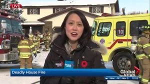 North Edmonton fatal house fire