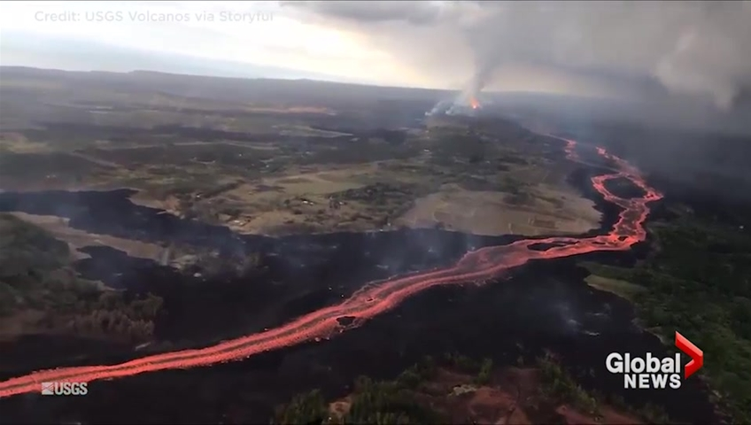 Hawaii volcano latest: Mesmerising Kilauea footage shows lava moving at 15 miles per hour
