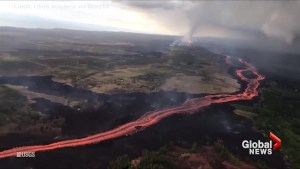 USGS helicopter captures incredible view of East Rift Zone of Hawaii's Kilauea volcano