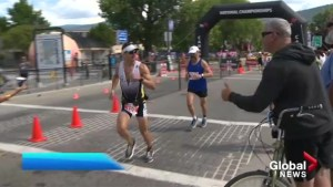 Challenge triathlon race is over in Penticton