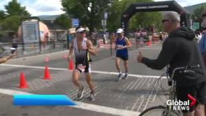 Challenge triathlon race is over in Penticton