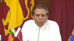 Sri Lanka president urges unity among political parties