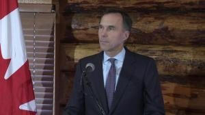 Morneau says Trans Mountain deal shows economy, environment go 'hand-in-hand'