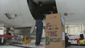 Calgary aviation students hope veterans food drive really 'takes off'