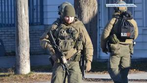 Belleville Police end standoff after man barricades himself inside a house