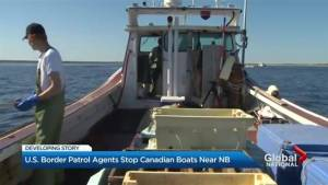 U.S. Border Patrol stopping Canadian boats near New Brunswick