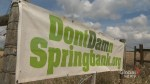 Environmental review delays contentious Springbank reservoir project