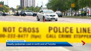 Woman dead after collision in Toronto's north end