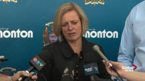 Rachel Notley says officials have discussed transitional housing plan