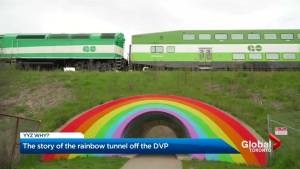 YYZ Why?: Toronto's Rainbow Tunnel on the Northbound DVP