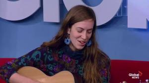 Madeleine Roger on Global News Morning ahead of 'Cottonwood' release