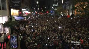 Basketball fever hits Montreal hard