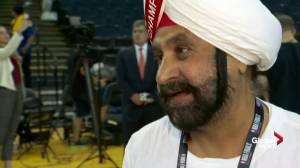 NBA Finals: Nav Bhatia 'on top of the world' after Raptors win