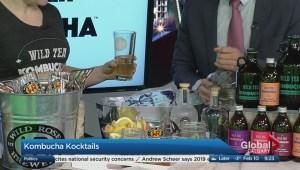 Olympic themed kombucha cocktails