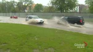 Rainfall causing flooding in parts of Toronto