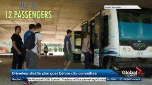 Driverless shuttle plan goes before Calgary committee